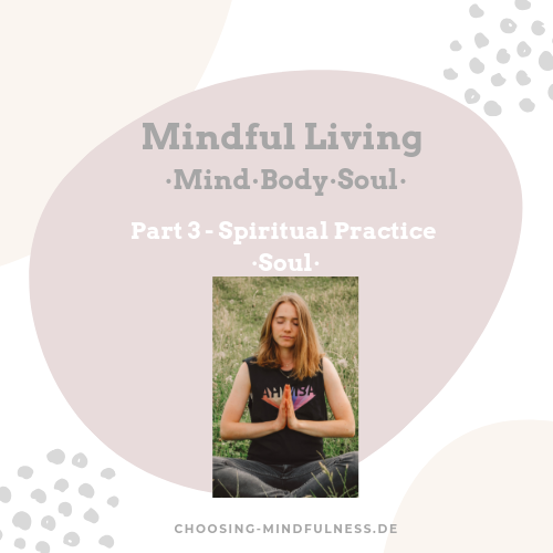 mindful living spirituality and soul