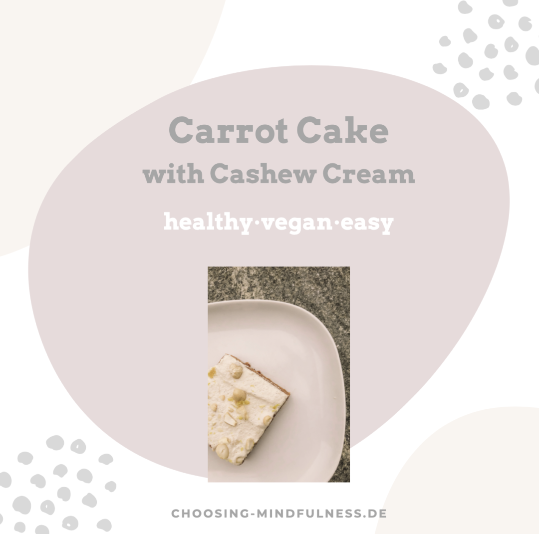 carrot cake vegan healthy