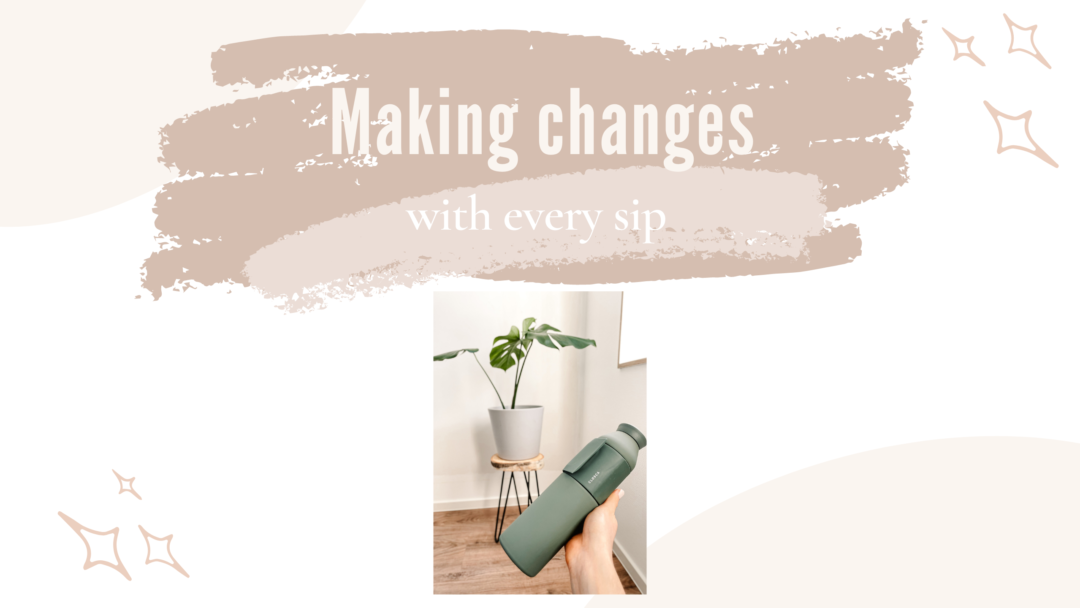 Making Changes with every sip Closca Design