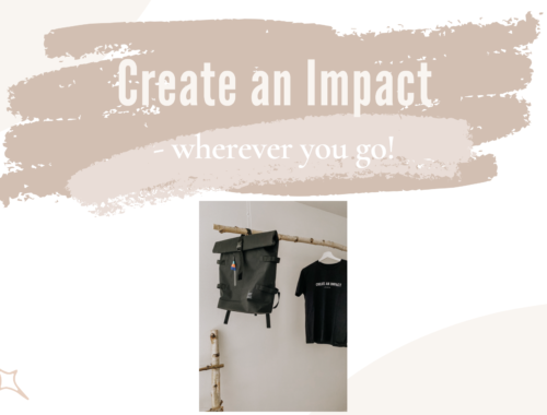 create an impact wherever you go